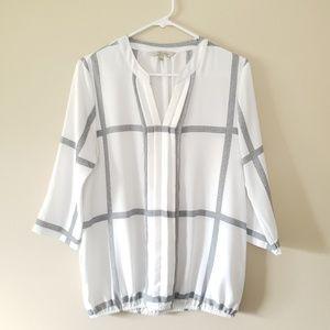 41 Hawthorn plaid blouse